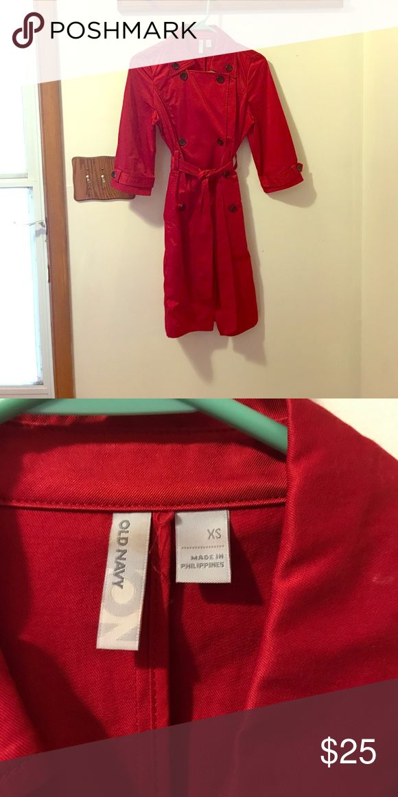 Like New Red Old Navy Pea Coat Just like new!! Only worn a couple of times! Old Navy Jackets & Coats Pea Coats