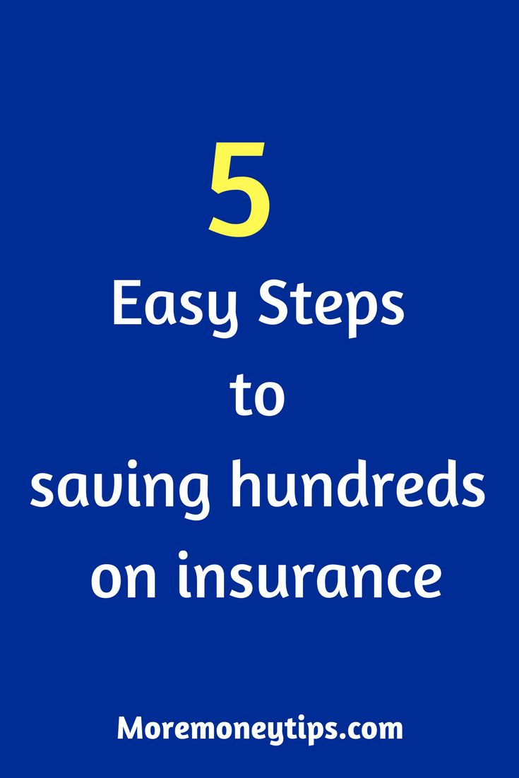 Use these 5 steps that I took to save big on insurance! Try it. You've got nothing to lose! #money #moneytips  #insurance  #tips  #savemoney
