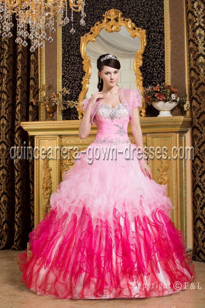 46 best quinceanera cheap dress images on Pinterest | Party wear ...