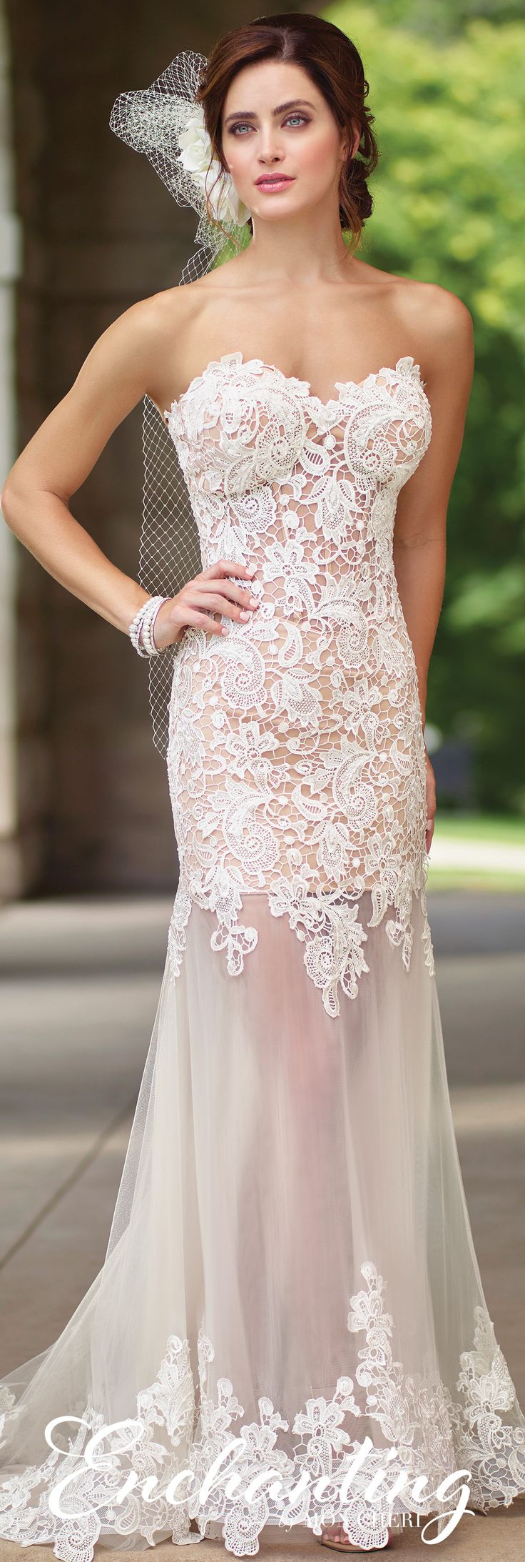 106 best images about unique wedding dresses on pinterest for Best lace wedding dresses