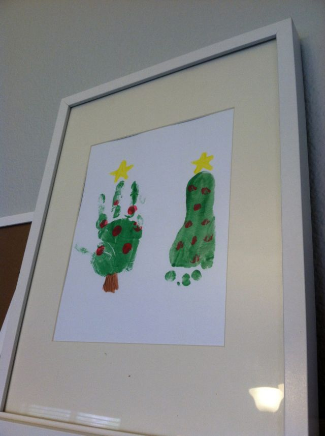 As Cute as a Bug's Ear- Toddler Art with handprints and footprints!
