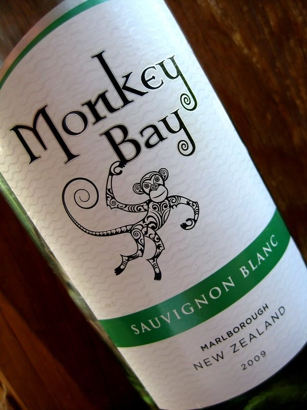 Monkey Bay Sauvignon Blanc from New Zealand.  You can get this for 8.99 or so at groceries stores.  Really good, not a super light white. Great with food.