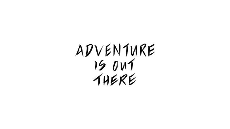 Adventure Is out There | FREE Desktop Background Wallpaper Mobile Screensaver | Wallpaper Wednesday | Bon Paper House