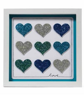 Glitter Paper Frame - Hearts : Scrapbooking Projects :  Shop | Joann.com