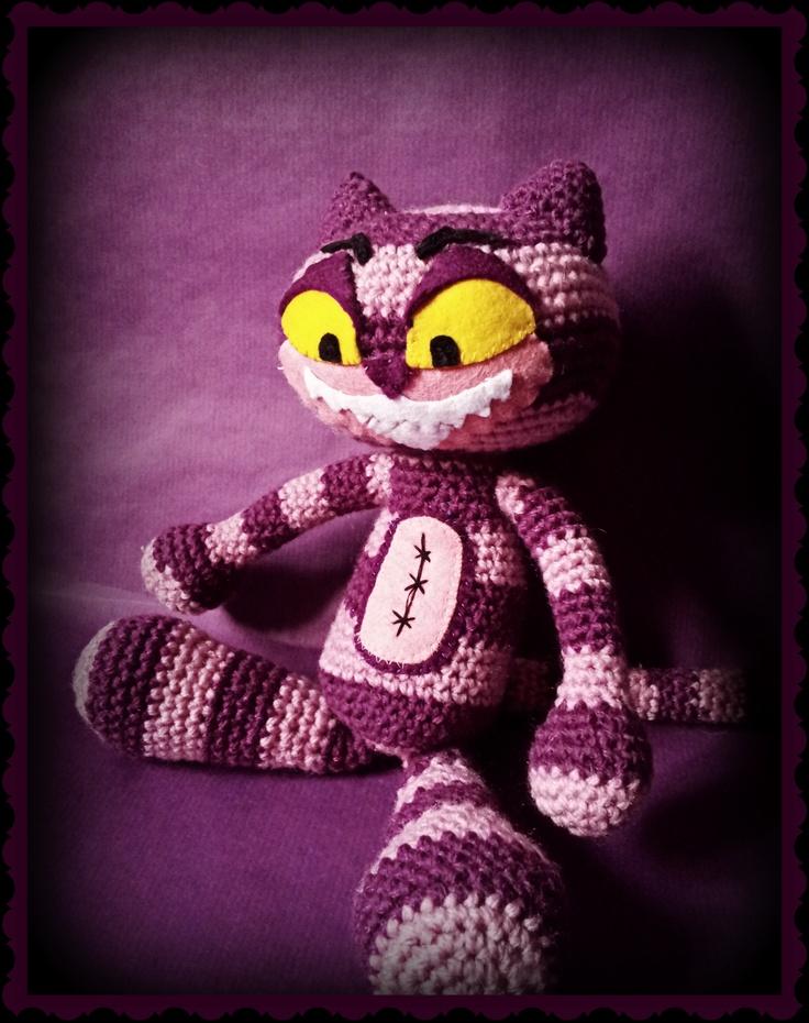 Cheshire Cat Amigurumi : Amigurumi - Cheshire Cat http://psychodollshop.blogspot ...
