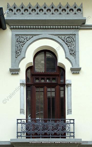 Overall superlative neo style balcony.