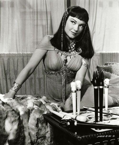 "Anne Baxter in ""The Ten Commandments"" [1956]"
