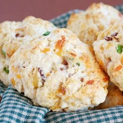 Bacon Cheddar Drop biscuits | What's for dinner...Sides, salads & sau...