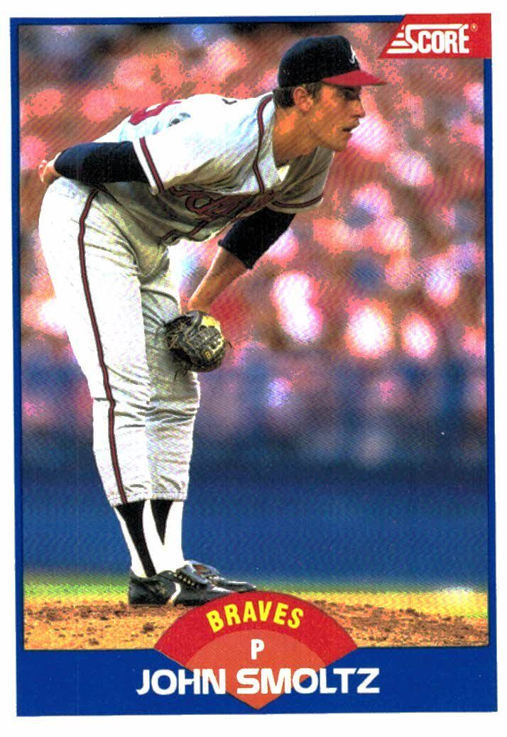 Buy 1989 Score John Smoltz Rookie Card Atlanta Braves At Jm