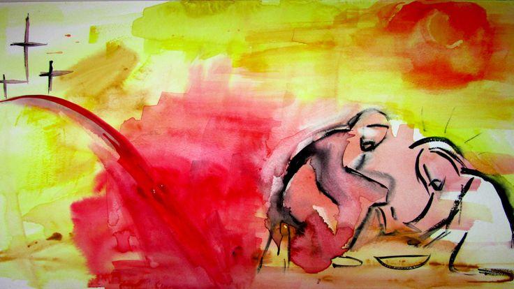 """Clic en la imagen y sigue la reflexión del Evangelio del día  Jueves Santo  Jueves Santo en la Cena del Señor  """"Les he dado el ejemplo""""   Evangelio según Juan 13, 1-15  Antes de la fiesta de Pascua, sabiendo Jesús que había llegado la hora de pasar de este mundo al Padre, él, que había amado a los suyos que quedaban en el mundo, los amó hasta el fin. http://www.fundacionpane.org/evangelio-del-dia-lectio-divina-juan-13-1-15/"""