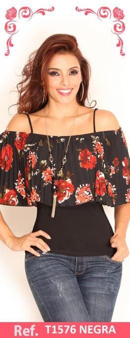 Resultado de imagen para modelos de blusas colombianas