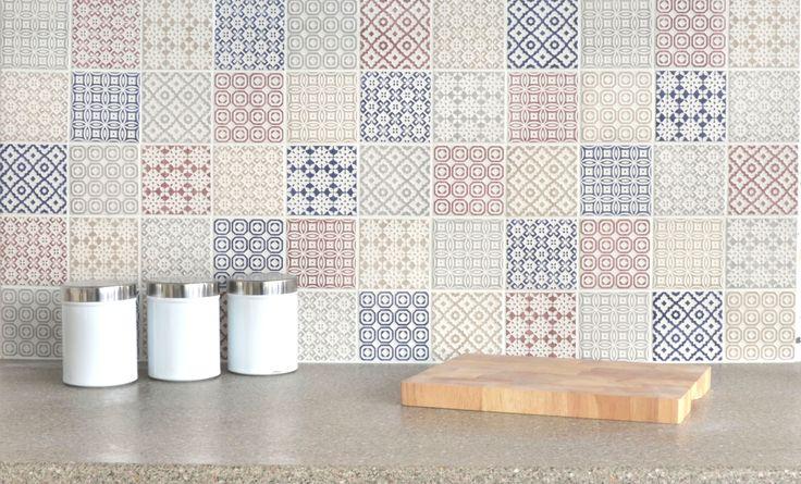 Batik Patchwork Tiles Tiles4All