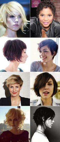 Ricota Não Derrete: Ideias de cortes de cabelo - curtos