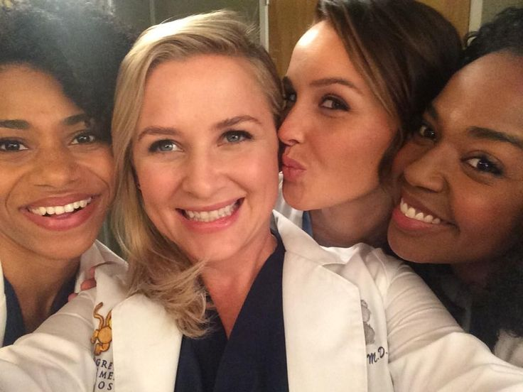 Kelly McCreary, Jessica Capshaw, Camilla Luddington, and Jerrika Hinton