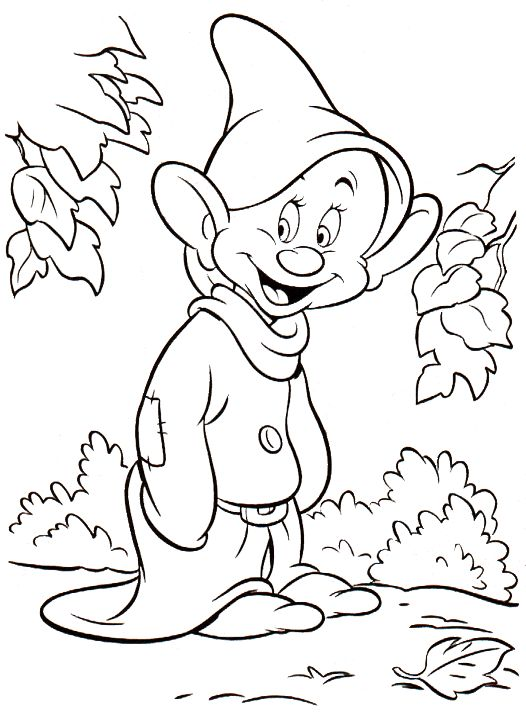 Coloring Pages For Kids Printable Disney KidsfreecoloringNet