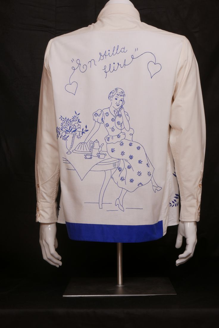 Swedish Lover Strong cotton.  Size M WILL ELLE collection, SYSI design