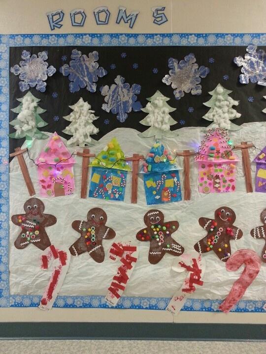 Preschool Christmas Bulletin Board