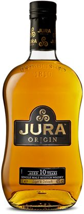 Jura Whisky (Single-malt Scotch) - pretty good but not one of the best to my taste.