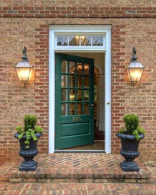 210 Best Porches And Doors Images On Pinterest Color Schemes Front Door Colors And Front Door