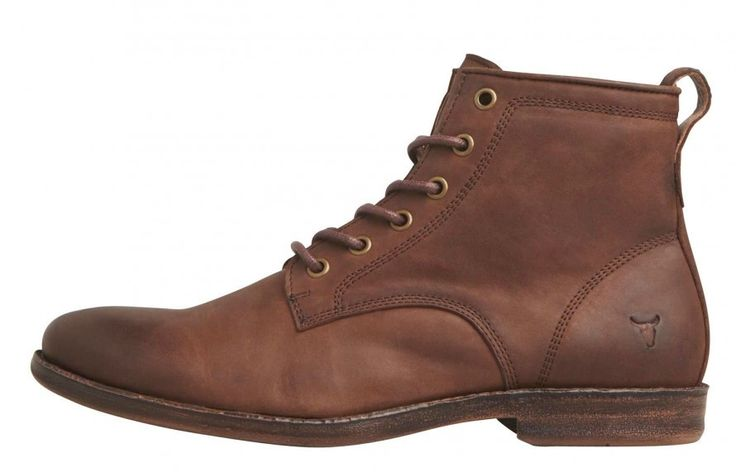 Windsor Smith - Krab Brown Leather Boot