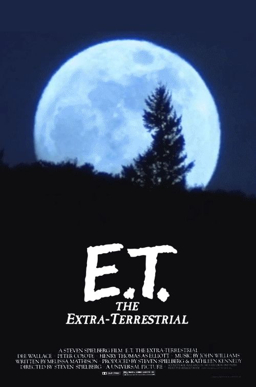 And with animation, you get to watch E.T. go home. | 17 Movie Posters Improved With Animation