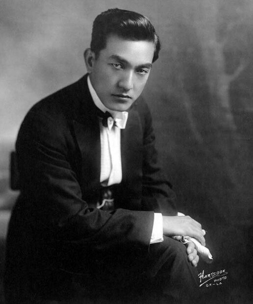 Sessue Hayakawa. Very handsome and He REALLY was a Fine actor! Not a Bit exaggeration!
