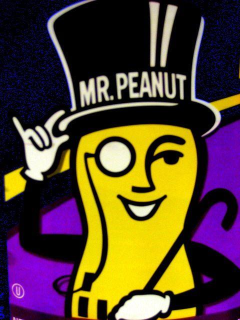 Mr. Peanut for Planters Peanuts http://adweek.it/LSCBs0 - 74 Best Mr. Peanut Images On Pinterest