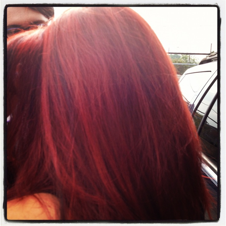 My hair color!!