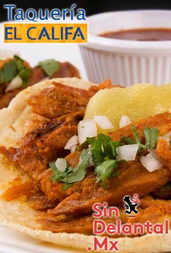 """¿Cuál es tu estilo  de comer tacos El Califa? R: """"Al puro estilo SinDelantal"""". Ordena ya: www.sindelantal.mx"""