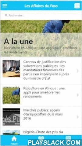 Les Affaires Du Faso  Android App - playslack.com ,  En plus de B24 SMS, les responsables du médias ont présenté et lancé un tout nouveau site www.les affaires.burkina24.com, dédié uniquement aux affaires.C'est un espace de visibilité pour faire connaitre son entreprise, ses affaires, et aussi avoir l'actualité sur l'économie, les finances et encourager l'entreprenariat au Burkina Faso», a expliqué Dieudonné Lankoandé, Directeur administratif de Burkina24. A l'entendre, ce media grandit face…