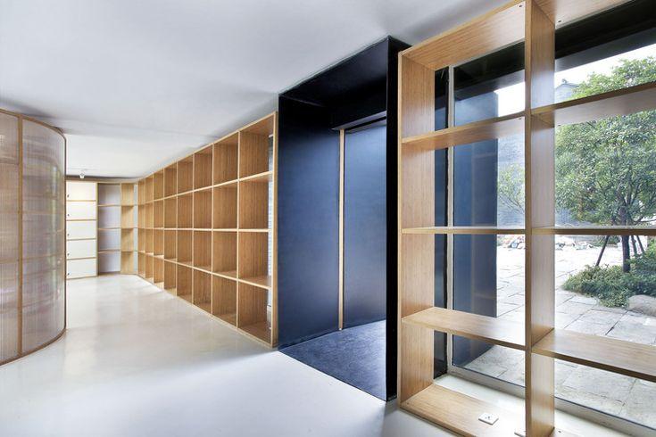 Reforma de Escritório em Hangzhou / Daipu Architects | ArchDaily Brasil