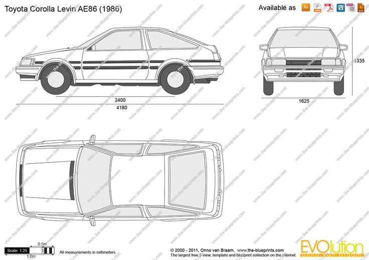 44 best blueprints images on pinterest graduation motor sport and image result for toyota corolla ae86 blueprint malvernweather Choice Image