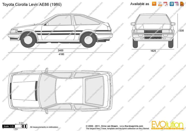 AE86 bleuprint - Google Search