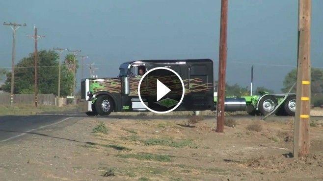 "Sick Custom Peterbilt Truck ""COWBOY Limousine"" - This custom Peterbilt limo truck, named as the ""Cowboy Limousine"", is designed as a show truck.."