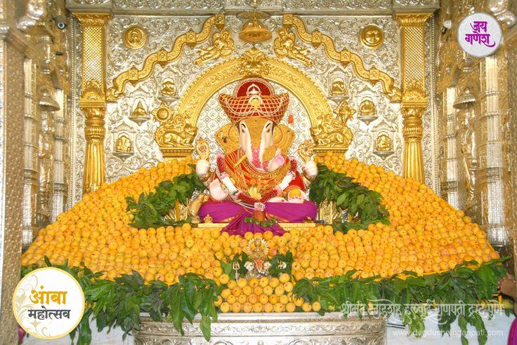 #Dagdusheth Ganpati celebrates #Mango Festival