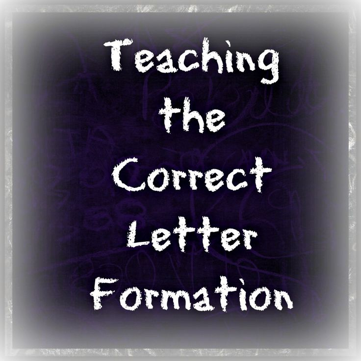 letter formation poems%0A Teaching the Correct Letter Formation