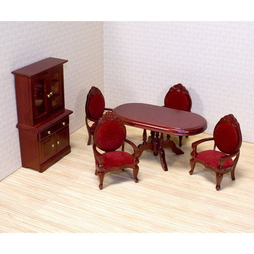 Melissa And Doug Victorian Dining Room Furniture Set