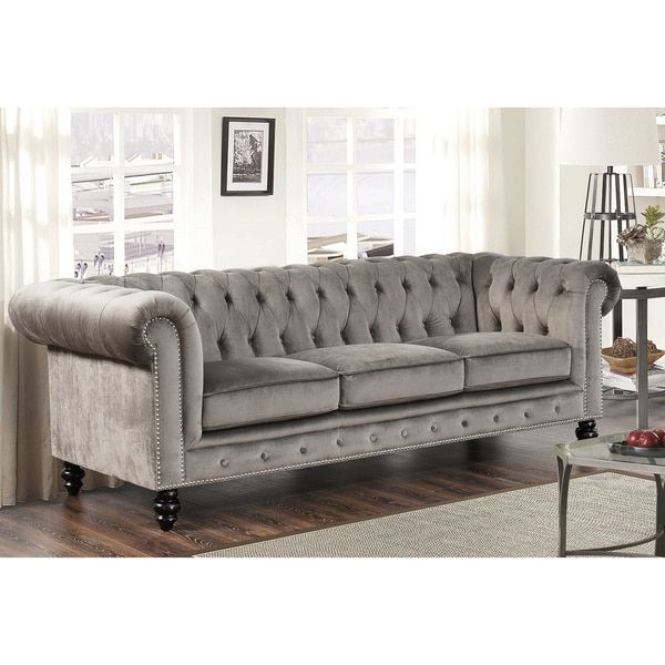 Change Up The Gray Couch With And Chic Black And White: 25+ Best Ideas About Grey Velvet Sofa On Pinterest