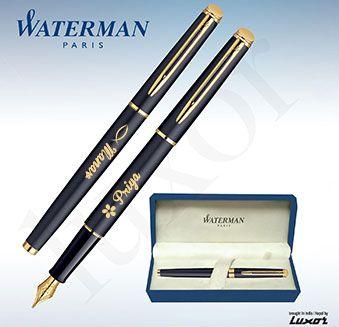 Personalize Waterman Pens with your name/signatures ! Order Link : --> http://www.printvenue.com/c/pens?utm_source=Pinterest&utm_medium=Post&utm_campaign=Pens_11Feb14