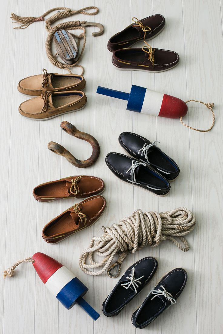 Now in five new colors, Sperry's staple boat shoe is ready for the high seas