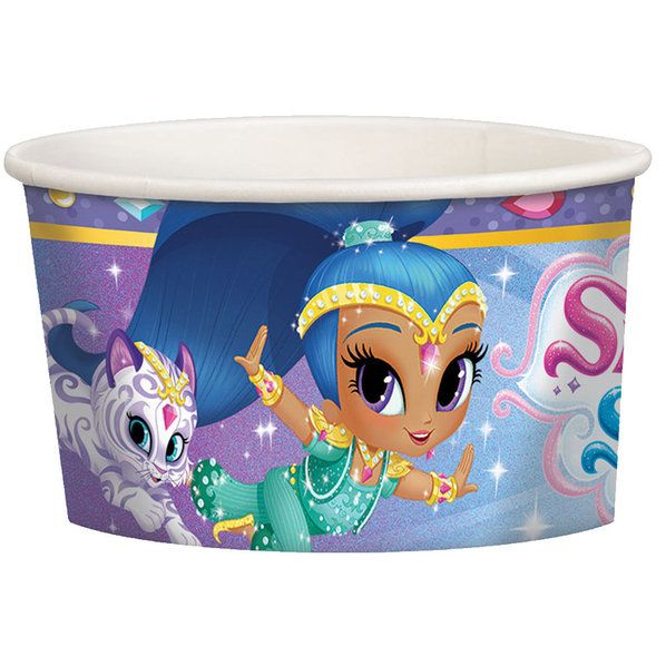 Check out Shimmer and Shine Treat Cups | Shimmer and Shine party supplies from Birthday in a Box from Birthday In A Box