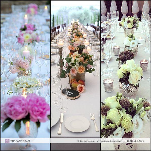 2014 Favorite Table Arrangements – We love long tables! - http://goo.gl/9pjURZ