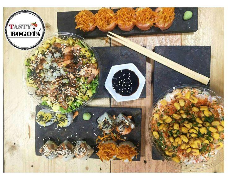 Opciones: sushi, poke, Cebiche  Sushi ink