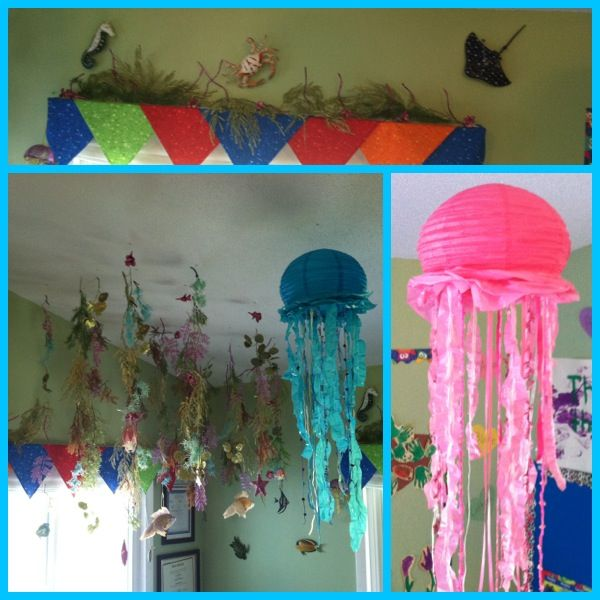 Classroom Ideas For Under The Sea ~ Best bulletin board images on pinterest amusement
