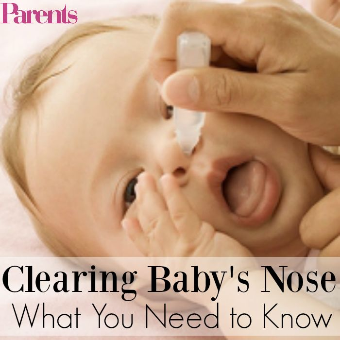 A stuffy nose can mean one cranky baby. (Especially since newborns know how to breathe only through their nostrils at first.) Here's what you need to know about giving them relief.