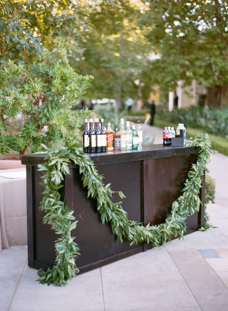 Olive and Bay Leaf Garland | Holly Flora | Aaron Delesie | TheKnot.com