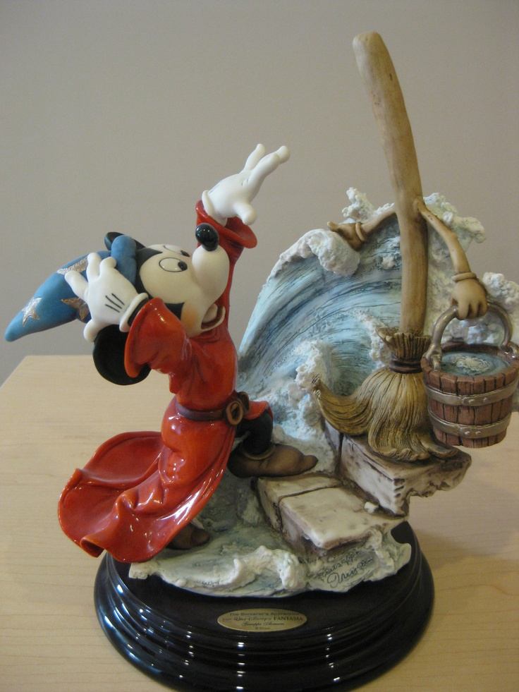 1000 Images About Mickey Mouse Figurines On Pinterest