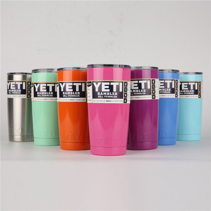 YETI Tumbler Cups 30 oz/20 oz/120 oz YETI Rambler Cooler Vacuum Insulated Vehicle Coffee Beer Mug Cups