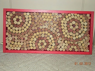 something to do with all those wine corks