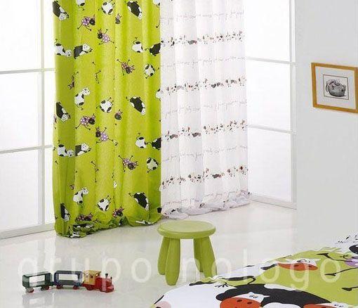 para dar un poco de color y un toque de al dormitorio de los nios modelos de cortinas para